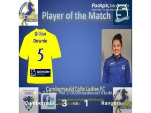 SWFL1 POTM Gillian Downie