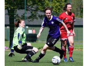 SWPL2 Striker Samantha McManus